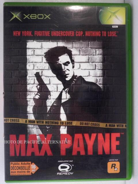 jeu MAX PAYNE 1 pour XBOX (first gen) en francais game spiel juego COMPLET