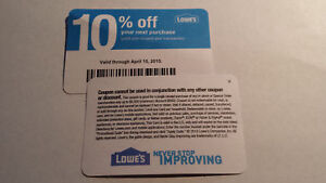At Home Coupons 2020.Details About Twenty 20 Lowes Coupons 10 Off At Competitors Only Home Depot Exp July 2020