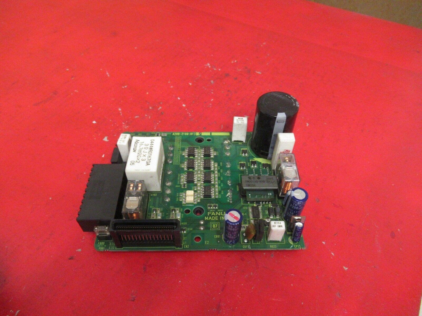 Fanuc Tarjeta de placa de circuito A20B-2100-013 A20B2100013 Usado Usado Usado 478a63