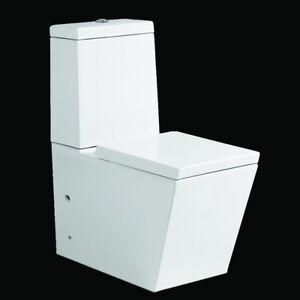 eckig Stand WC Toilette Set mit Spülkasten / Nano Beschichtung ...