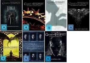 Game of Thrones Staffel 1-7 (1+2+3+4+5+6+7) DVD Set NEU OVP