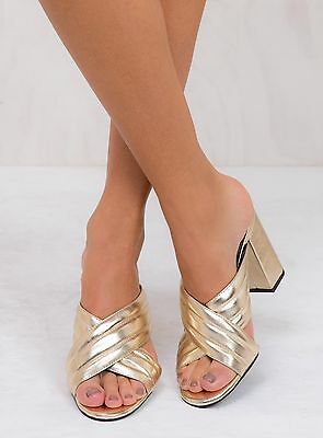New Women's Therapy Gold Triola Heels