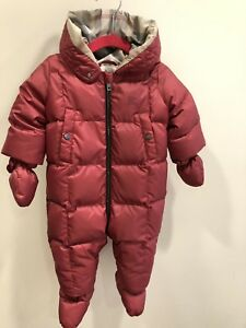 db6f8dc4c Image is loading Authentic-Burberry-Girls-039-Skylar-Snowsuit-Size-6-
