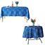 miniature 21 - Imperméable Nappe Home Table de salle à manger Protecteur Rond/Rectangulaire Table Housse