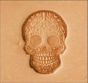 Craftool-2D-Stamp-Sugar-Skull-8693-00-by-Stecksstore-Leather-Stamping-Tools