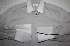 BRIONI Made in Italy Cotton French Cuff Point Collar Dress Shirt 17 / 43