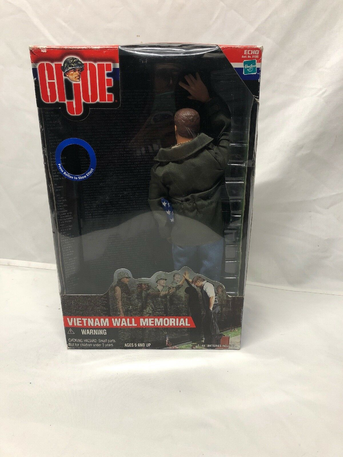 "New GI JOE 12"" Figure Vietnam War Memorial National Park Complete Loose With Box"