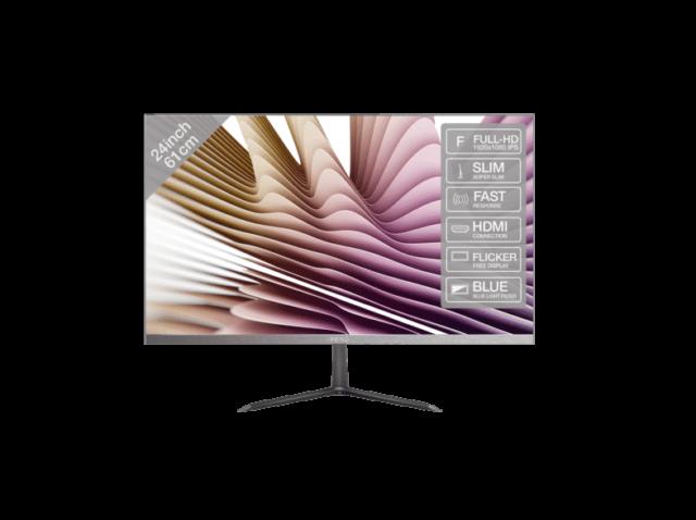 PEAQ PMO Slim S240 24 Zoll Full-HD Monitor