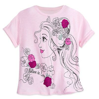 Beauty and the Beast Belle Loves Books Womens Graphic Scoop Neck