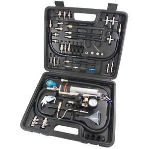 Inyector-Limpiador-amp-Tester-Probador-De-Sistema-De-Combustible-Gasolina-Plus-Kit-de-herramientas