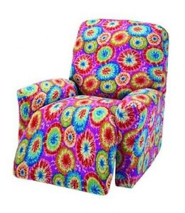 Image Is Loading Tie Dye Recliner Cover Also In Sofa Couch