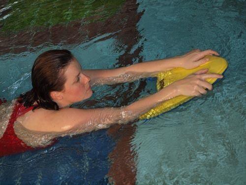 Adult and Child swim streamline swimming TRAINING Kickboard Ergonomic 6008 NEW