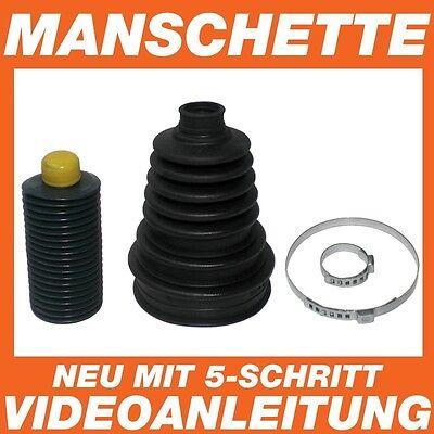 Achsmanschette Manschette Ford Focus komplett mit Fett und Schellen