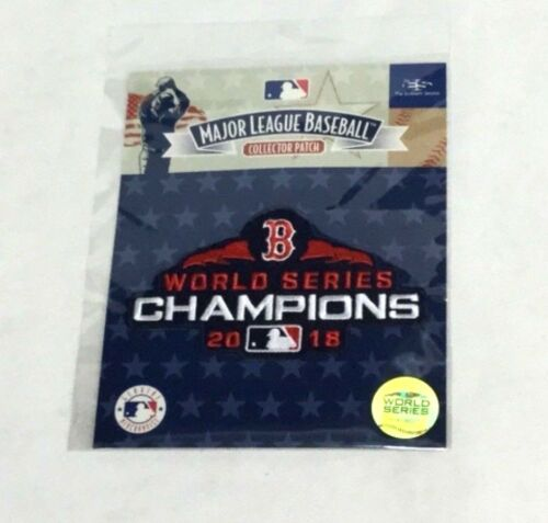 MLB Official Boston Red Sox 2018 World Series Champions Jersey Patch FREESHIP