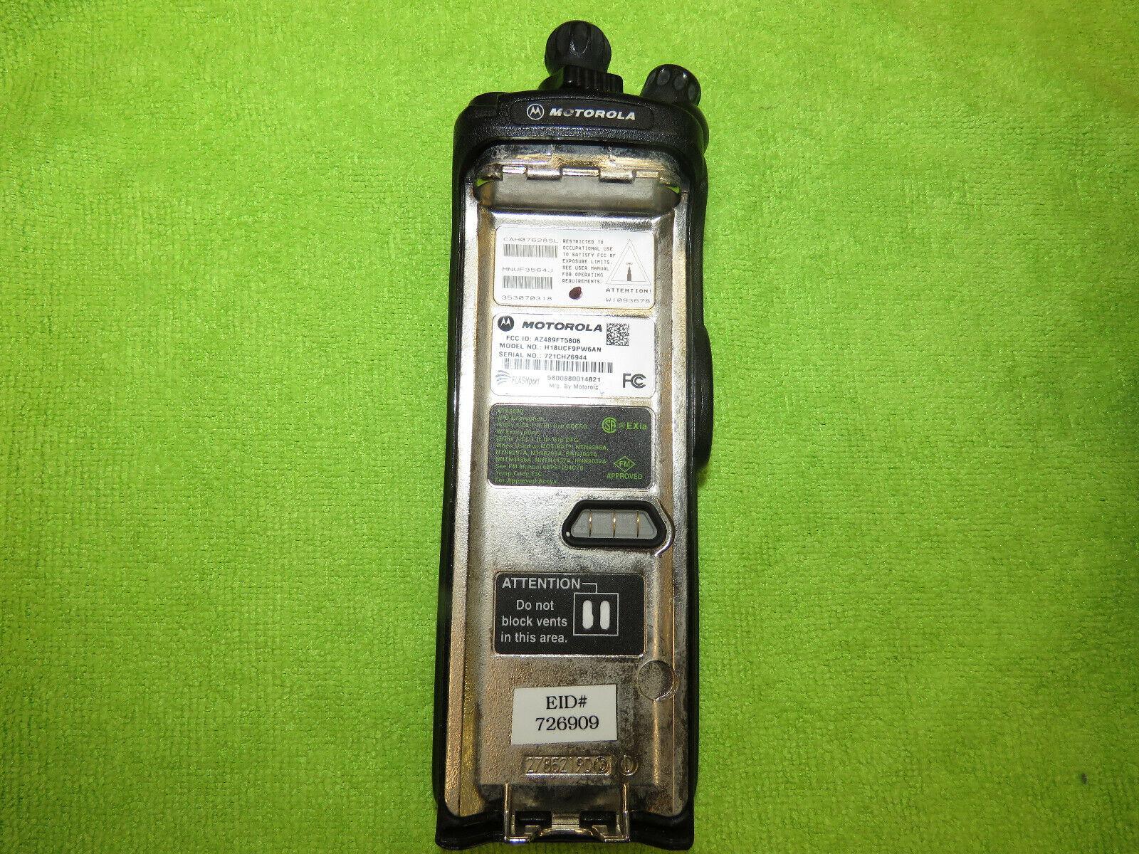 Motorola H18UCF9PW6AN 800MHz Two Way Radio