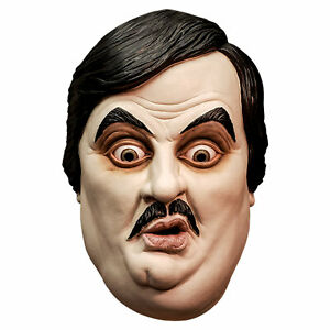 Adult Paul Bearer WWE Wrestling Undertaker Manager Halloween Costume Latex Mask
