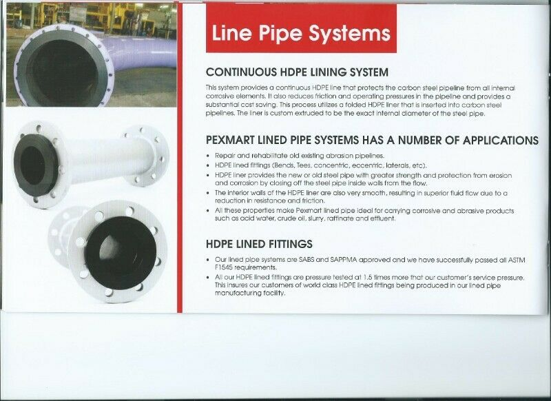 HDPE Pipe  PEXMART SPIRAL, Manufacturing, Installation and