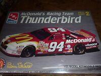 AMT McDonalds Racing Team #94Ford Thunderbird Bill Elliott 1 25scale ERTL Model