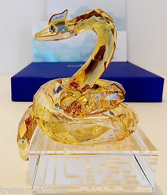 "SWAROVSKI   "" CHINESE ZODIAC - SNAKE "" #1109240   PHILOSOPHICAL , SPECIAL PRICE"