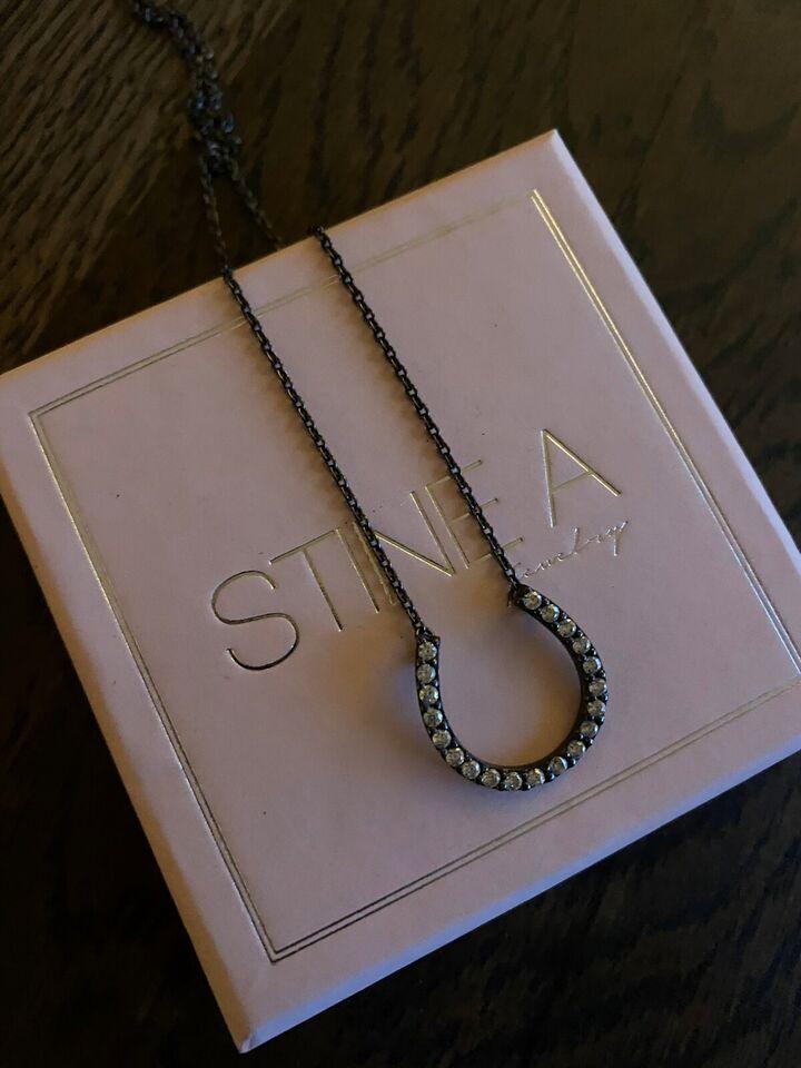 Halskæde, sølv, Stine A
