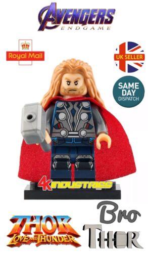 Thor Mini Figure Marvel Avengers Movie Bro Thor Hammer Worthy Love Thunder UK