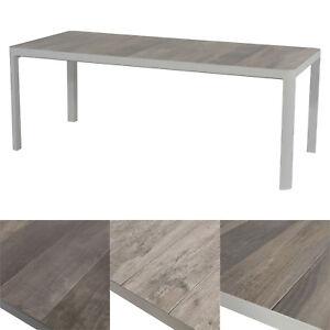 Luxus Gartentisch Tisch Esstisch Terrassentisch 220 X 100 Cm