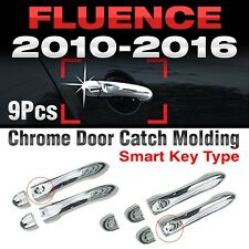 Chrome Door Catch Handle Molding Cover Garnish for RENAULT 2010-2017 Fluence SM3