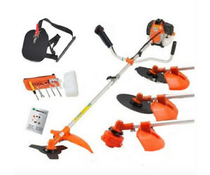 Multi-powerful-52cc-gasoline-brush-cutter-4-in-1-grass-trimmer-saw-mower
