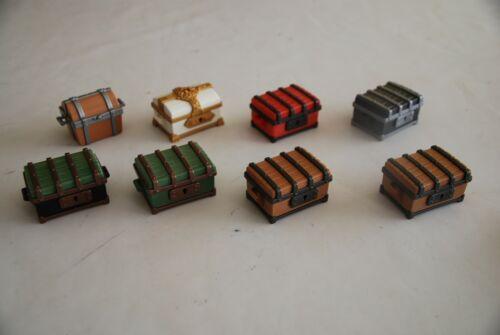 Playmobil baules pirata tesoro caballeros knight pricesa  colonial