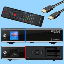 Gigablue Ultra UE HD Sat Receiver Schwarz USB HDMI Digital dvb_s2 Linux E2 HDTV