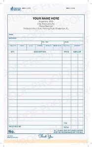 custom printed sales invoice books receipt books gp 153 ebay