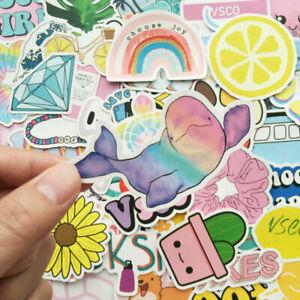 50PCS Good Skateboard Stickers Pack Vinyl Laptop Luggage Guitar VSCO Girls Decal