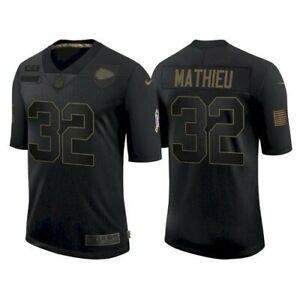 Kansas City Chiefs #32 Tyrann Mathieu, Salute to Service Limited ...