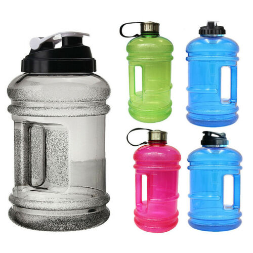 Hot 2.2L Sports Big Drink Large Water Bottle Cap Kettle BPA Sport Gym Training D