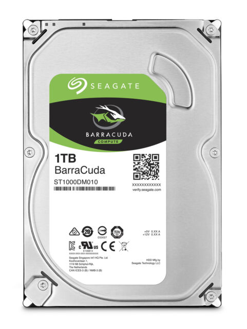 SEAGATE BARRACUDA HD 3,5 1TB SATA-III ST1000DM010