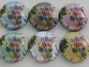 Serie-de-6-new-capsules-de-Champagne-Generique-GRAPPES