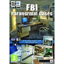 FBI PARANORMAL CASES ( PC GAME ) NEW  SEALED