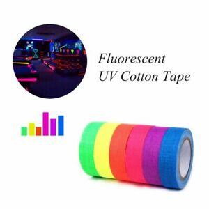 6x Glow In The Dark Luminous Fluorescent Night Decor Self-adhesive Sticker Tape