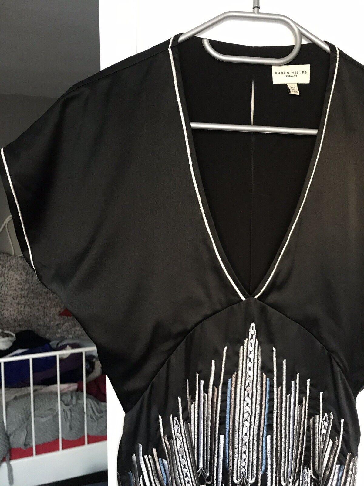 Seide Kimono von Karen Millen, Gr. S