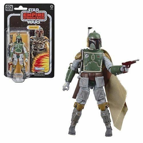 Star Wars The Black Series Empire Strikes Back 40th Anniversaire 6 pouces BOBA FETT Action Figure