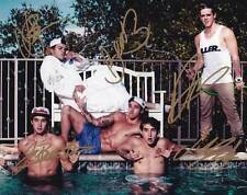The Janoskians In-Person AUTHENTIC Autographed Group Pic by all 5 COA SHA #11593