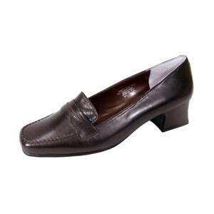 45404d9787b PEERAGE Ida Women Wide Width Classic Style Comfort Leather Penny ...