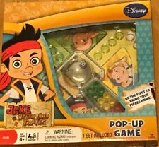 Jake and the Never Land Pirates Pop Up Popper Jr Disney Game Travel Size New