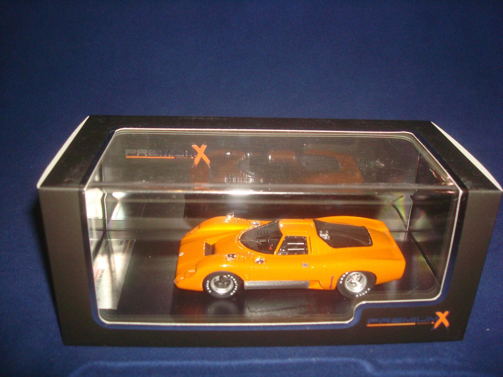 McLaren M6B GT 1969 1969 1969 Naranja Premium X PR0257 1 43 924b94