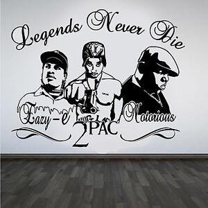 2Pac-Tupac-Eazy-E-Notorious-B-I-G-Rappers-Hip-Hop-Legends-DIY-Wall-Art-Sticker