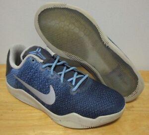 NICE Nike Zoom Kobe XI 11 Brave Blue GS Youth Women s Basketball ... c44de133c4