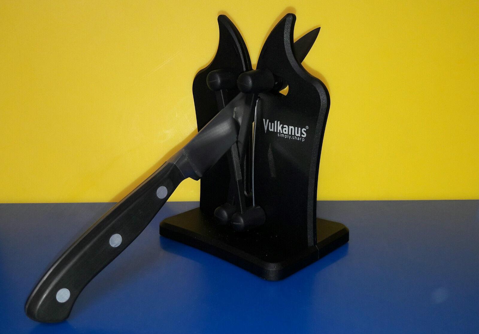Vulkanus Messerschärfer Classic Farbe schwarz Messerschleifer Abzieher Abzieher Abzieher  NEU  | Verschiedene Arten Und Die Styles  dbb67b