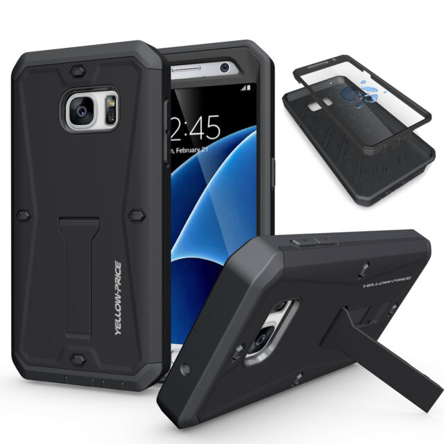 best service a9a23 ab60f Armor Impact Heavy Duty Rugged Hybrid Hard Case Stand Cover Screen For  Samsung