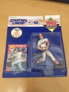 1995 MLB Baseball SLU Starting Lineup CAL RIPKEN JR. Action Figure NIP STREAK!!