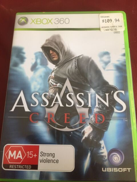 Xbox 360 Pal Game: Assassin's Creed. Classic Video Game